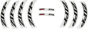 Zipp Decal Set: 404 Matte Black Logo Complete for One Wheel