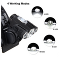 90000LM 3 X T6 Rechargeable LED Headlamp Headlight Flashlight Head Torch Light