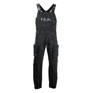 40% Off HUK Leviathan Fishing Bib Pant - Black Pick Size-Free Ship
