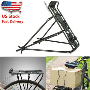 Bike Bicycle Rear Rack Bracket Seat Post Mount Pannier Luggage Carrier Shelf