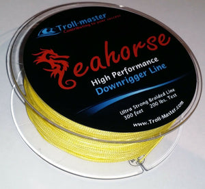 Downrigger Braided Line 300ft YELLOW PENN CANNON SCOTTY NEW by TROLL-MASTER
