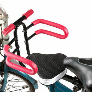 Bicycle Kids Child Front Seat Bike Carrier Baby Safety Chair with Handrail US