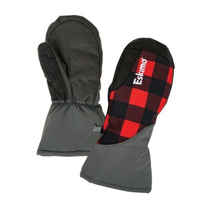 NEW Eskimo Ice Fishing Buffalo Plaid Chopper Mitts Gloves Mittens Snowmobile