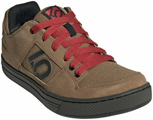 Five Ten Freerider Men's Flat Shoe: Raw Desert/Black/Glory Red 9.5