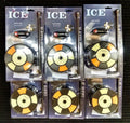 6pk Ice Fishing Fish House Fishouse Rattle Reel Wheel Wall Ceiling Black