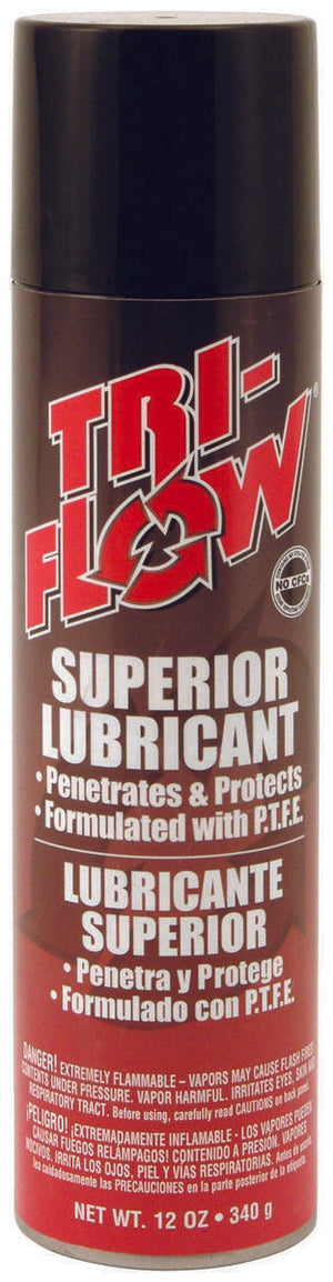 Tri-Flow 20006TF Penetrating Lubricant, 12 oz, Aerosol Can, Brown, Oil