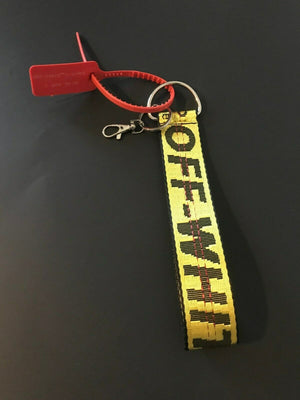 Off White Belt Keychain assorted colors