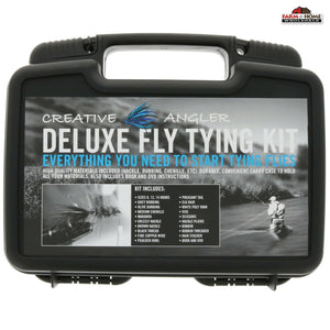 Deluxe Fly Tying Kit ~ New