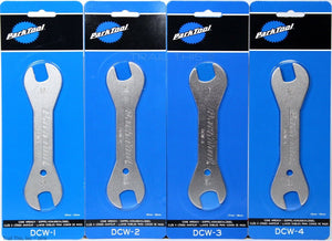 Park Tool DCW-1 2 3 4 Double Ended Bicycle Cone Wrench Set 13mm 14 15 16 17 18mm