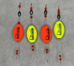 Fishing Popping Corks | Southern Angler Redfish Lot Of 4