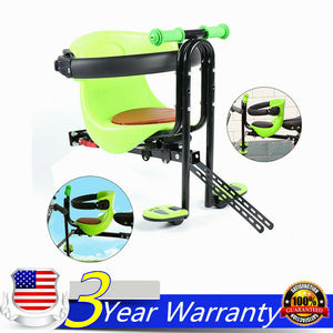 Bicycle Bike Front Seat Safety Stable Baby Child Kids Chair Carrier Up to 30KG