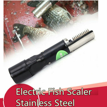 Universal Electric Fish Scale Remover Cleaner Scaler Scraper For Home Hotel US