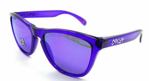 Oakley FROGSKINS POLARIZED Sunglasses OO9013-H855 Crystal Purple/Violet Iridium