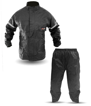 2 pieces Fishing Rain Suit Gear Jacket and Pants #100