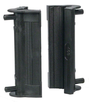 Park Tool 468B Rubber Clamp Cover with Double Cable Grooves Pair Soft Jaw