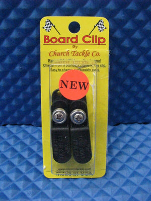 Church Tackle Board Clip for Planer Boards 2 per pack NEW #40700