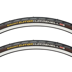 Continental Gator Hardshell Tire PAIR 27x1-1/4 Wire Clincher Black 27