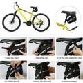 Hommie Portable 16-in-1 Bicycle Saddle Bag Bike Repair Tool Kit Repair Set NEW