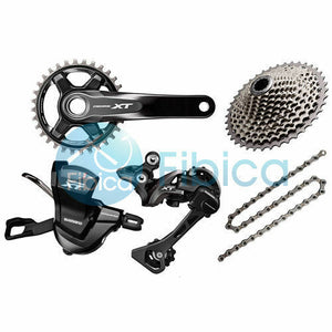 New 2019 Shimano Deore XT M8000 11-speed Groupset Drivetrain Group set