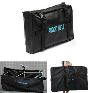 Bike Bicycle Frame Bag Transport Carrier Folding Travel Mountain Road Black Bags