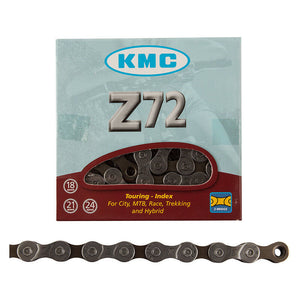 KMC Z72 Bicycle Chain 6, 7, 8-Speed Compatible 116-Links Road Mountain Bike