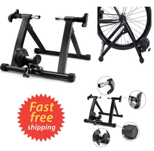 5 Level Heavy Bicycle Exercise Trainer Stand Non-linear Magnetic Resistance US
