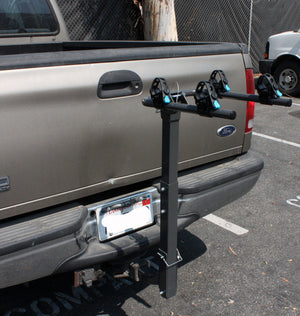 Two Bike Rack Bicycle Carrier Racks Hitch Mount Double Swing Arm Foldable Rack