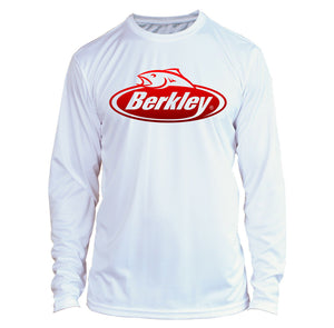Berkley Fishing Long Sleeve Microfiber UPF Fishing Shirt