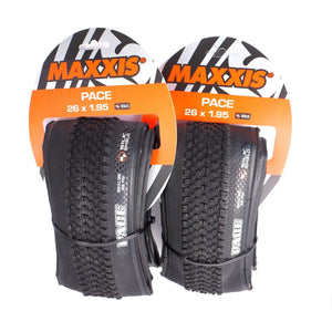 Maxxis Pace 26 x 1.95 MTB Mountain Bike Foldable Cross Country Tire - 2 tires~
