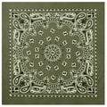 Bandana Face Mask Cover Head Wrap Scarf 100% Cotton Paisley 3 to 12 PCS