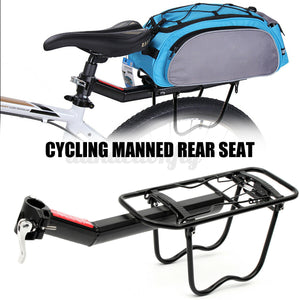 Bicycle Mountain Bike Rear Back Rack Seat Post Mount Pannier Luggage Carrier