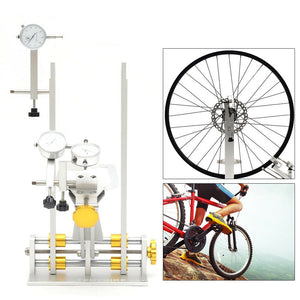 Bicycle Wheel Maintenance Platform Bearing Truing Stand Trimming Repair Tool Kit