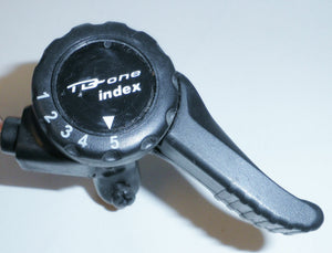 TD-ONE INDEX 5-SPEED MOUNTAIN BICYCLE THUMB SHIFT BIKE PARTS 621