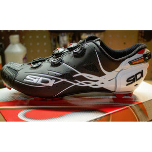 New SIDI TIGER Carbon Mountain MTB Cycling Shoes Matte Black White US Warehouse