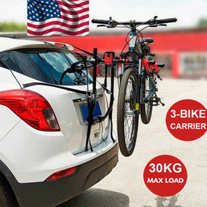 3 Bicycle Bike Rack Hitch Mount Carrier for Car Truck Auto SUV Rack 3 Bikes New