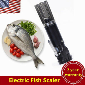 120W Electric Waterproof Fish Scale Remover Scraper Scaler Clean Stainless Steel