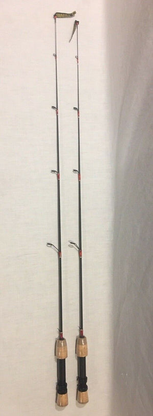 SET OF 2 NEW FRABILL BRO SERIES ICE FISHING POLE 36