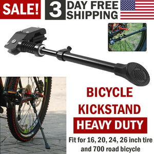 UNIVERSAL Mountain Bike Kickstand Bicycle Kick Stand MTB Road Adjustable Side