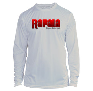 Rapala Long Sleeve Microfiber UPF Fishing Shirt Gray