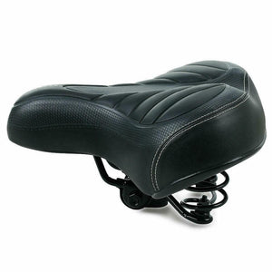 Comfort Wide Big Bike Bicycle Cycling Cruiser Extra Sporty Soft Pad Saddle Seat