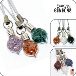Energy Bonbons Crushed Gemstones Straps