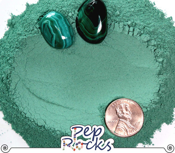 Malachite - Fine crystal powder