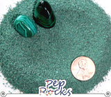 Malachite - Medium crystal sand particles
