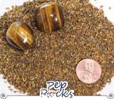 Tiger's Eye - Coarse quartz sand particles