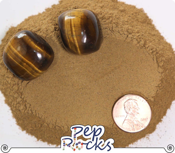 Tiger's Eye - Fine quartz powder