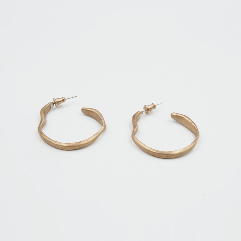 Classic Medium Hoop Earrings