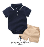 Ensemble T-shirt + Shorts - Golf