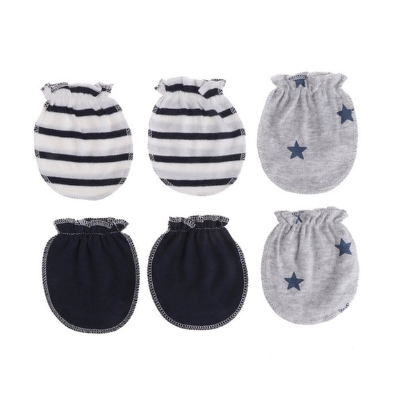Mitaines Bébé - 3 Pairs Fashion