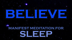 manifest sleep meditation