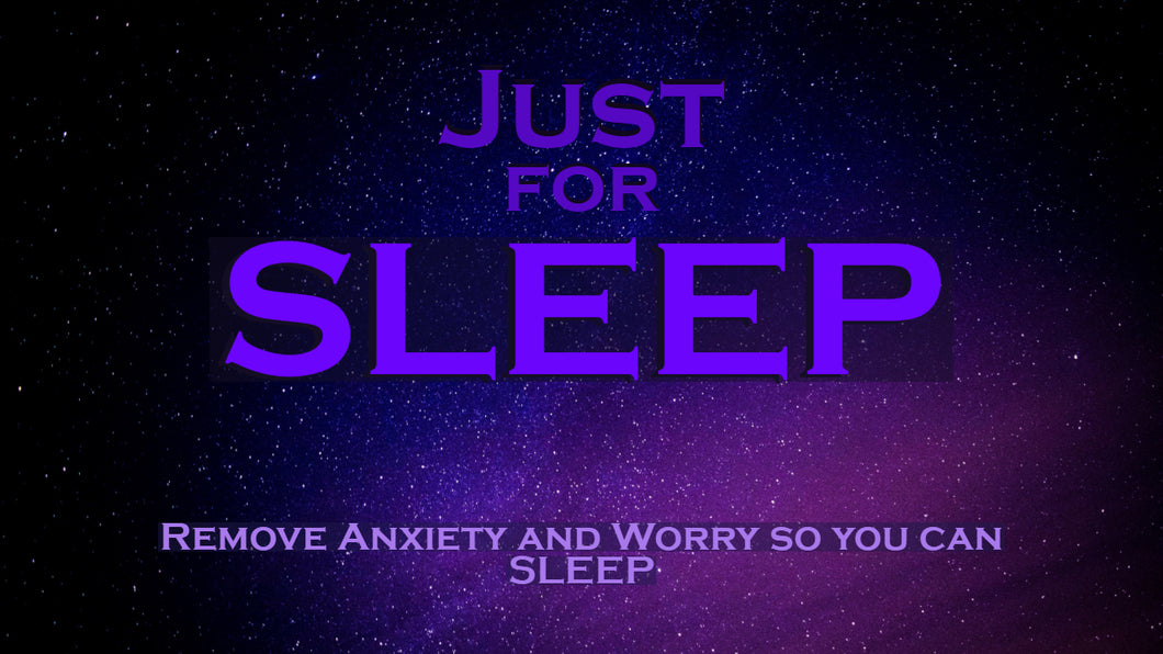 SLEEP ~ Remove Anxiety and Worry to Help you Sleep MEDITATION
